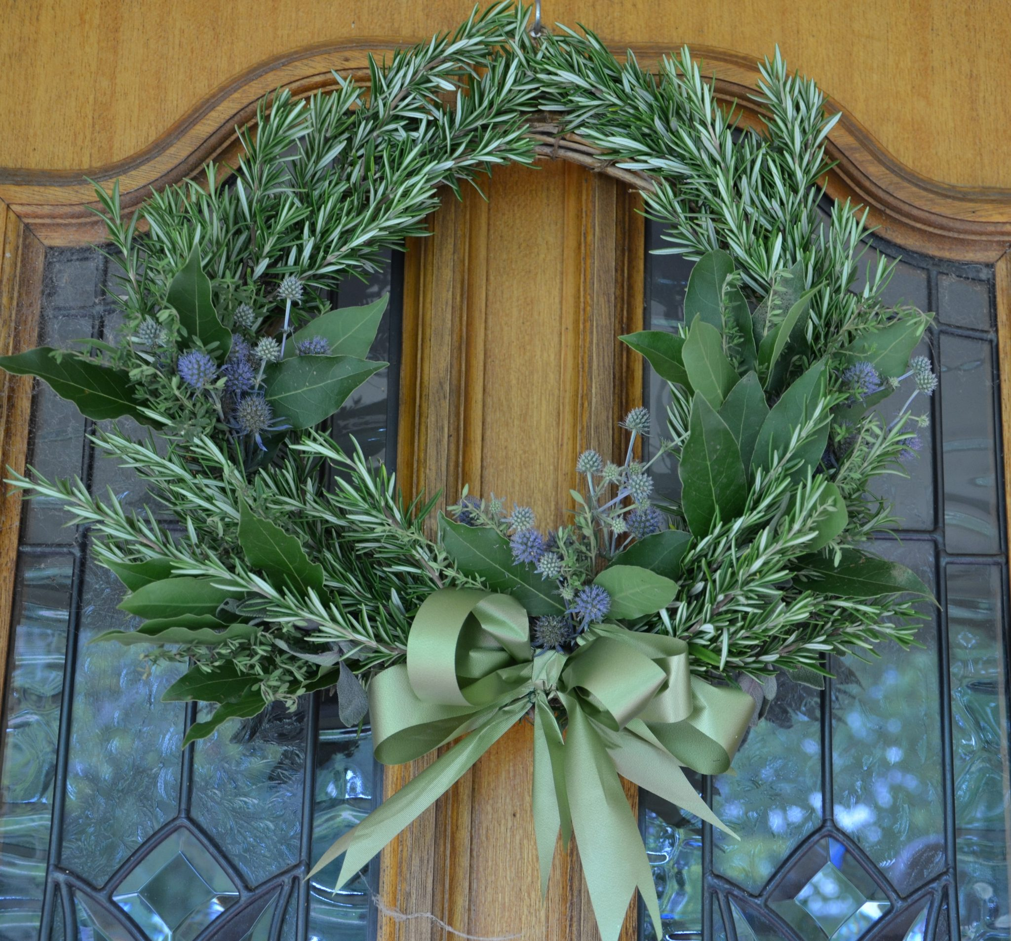 grow your own food my productive backyard diy gardening garden southern highlands wildes meadow burrawang robertson garden consultant grow your own good food herbal wreath rosemary wreath diy christmas herbs christmas